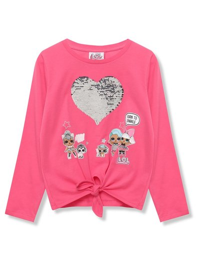 Lol Surprise two way sequin top (5 - 9 yrs)