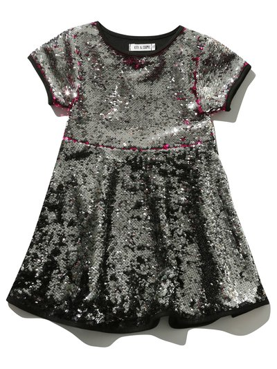 Kite and Cosmic two way sequin skater dress
