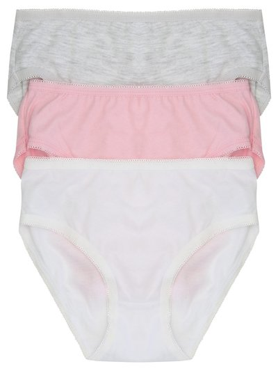 Plain briefs three pack (2-10yrs)