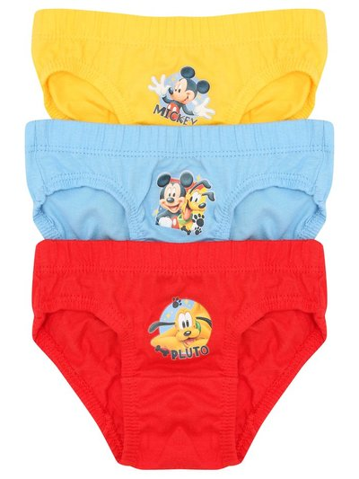 Disney Mickey Mouse briefs three pack (1-5yrs)