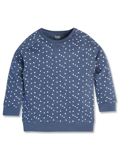 Polka dot sweatshirt (9mths-5yrs)