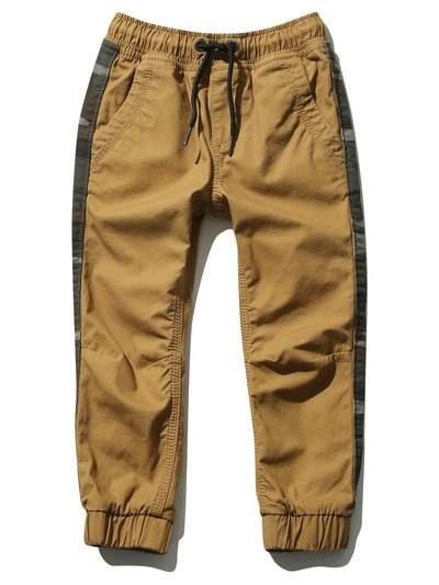 Camo side stripe cuffed trousers (3-12yrs)