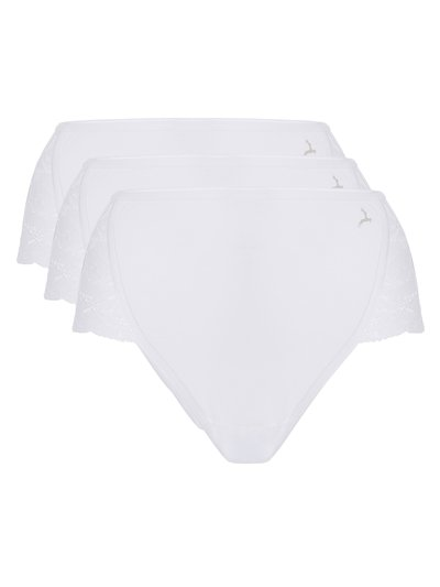 Ten Cate lace high leg brief 2 pack