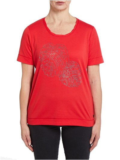 TIGI red t-shirt