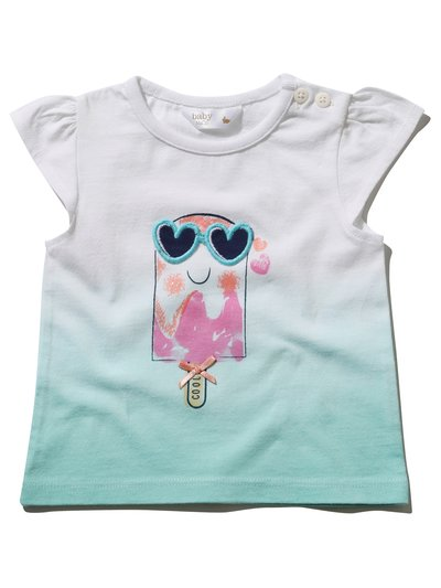 Ice cream ombre t-shirt