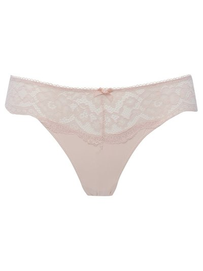 Floral lace brazilian brief