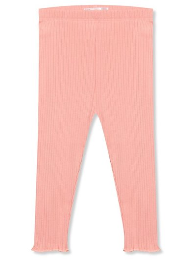 Ribbed pink leggings (9mths-5yrs)