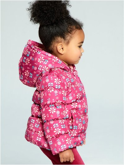 Floral padded jacket (9 mths - 5 yrs)
