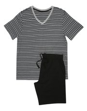 V-neck t-shirt and shorts pyjama set