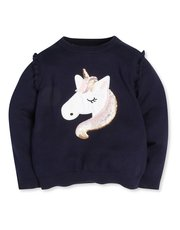 Unicorn jumper (9mths-5yrs)