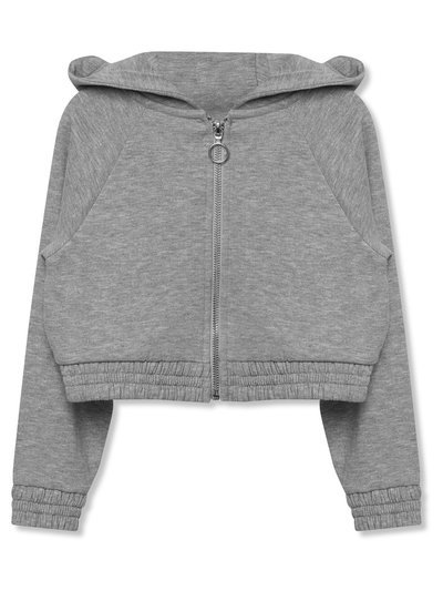 Grey zip up hoodie (3-12yrs)
