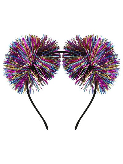 Novelty tinsel hairband