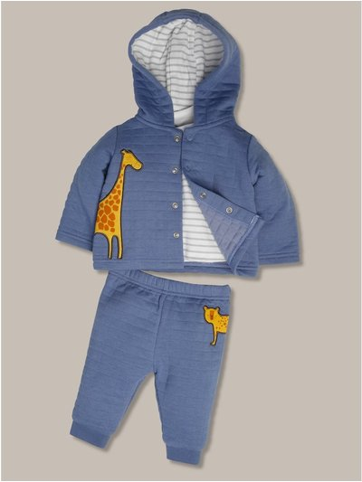 Giraffe hoodie and jogger set (9mths-5yrs)