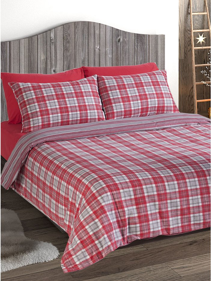 red check duvet cover next sweetgalas. Black Bedroom Furniture Sets. Home Design Ideas