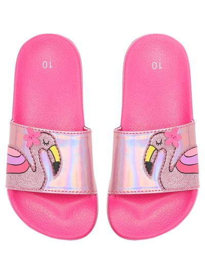 Flamingo slider sandals