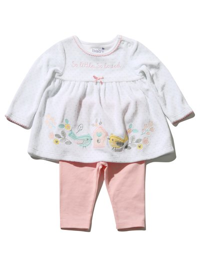 Floral top and leggings set (Newborn - 18 mths)