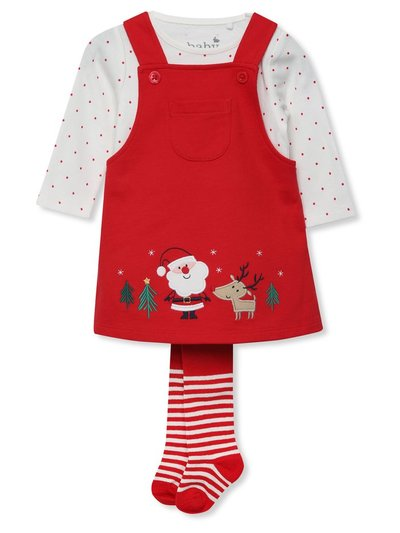 Reindeer dress and tights set (Newborn-18mths)