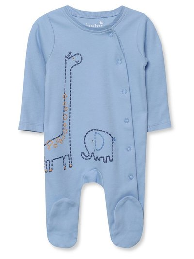 Giraffe and elephant sleepsuit (Tinybaby-18mths)