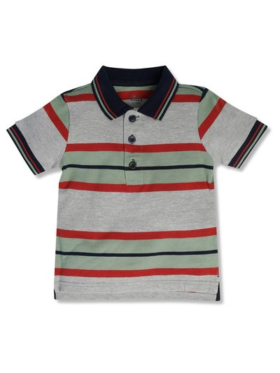 Stripe polo shirt (3-12yrs)