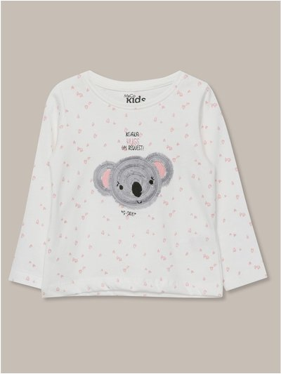 Long sleeve koala t-shirt (9mths-5yrs)