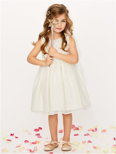 Floral chiffon bridesmaid dress (3-12yrs)