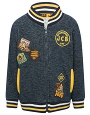 JCB baseball sweater