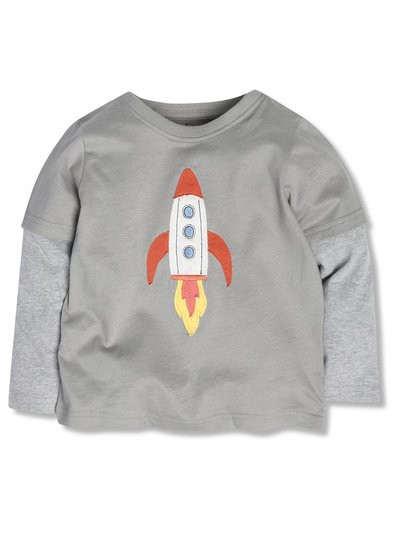 Rocket ship t-shirt (9mths-5yrs)