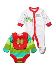 The Very Hungry Caterpillar three piece starter set