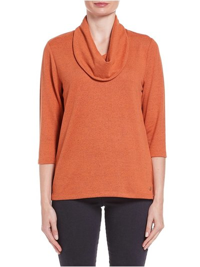 TIGI plain cowl neck top