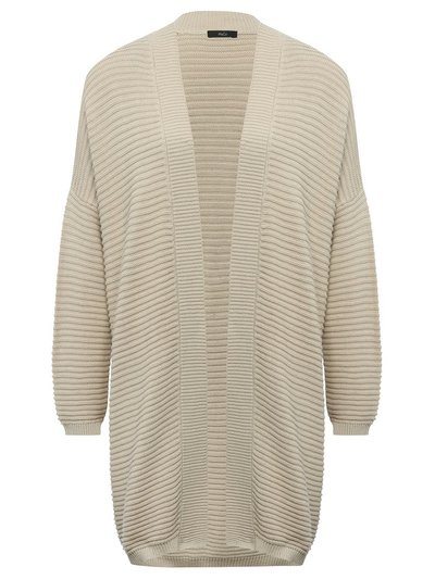Ribbed oversized cardigan
