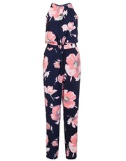 Quiz flower print jumpsuit