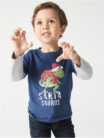 Santasaurus t-shirt (9mths-5yrs)