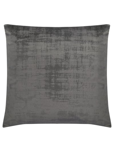 Textured velour cushion