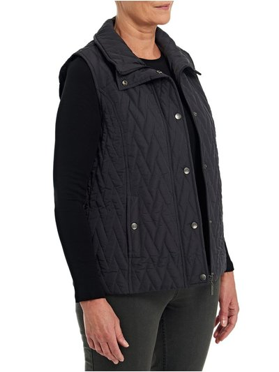 TIGI grey quilted gilet