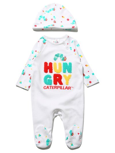 The Very Hungry Caterpillar sleepsuit and hat (Tiny Baby - 12 mths)