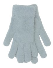Eyelash fleece gloves