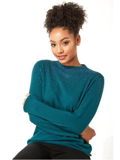 Roman Originals diamante long sleeve jumper