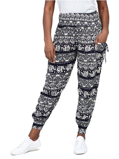 Izabel Curve tribal print harem pants