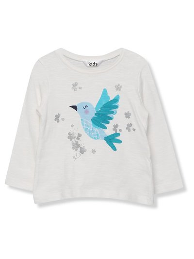 Glitter hummingbird t-shirt (9 mths - 5 yrs)
