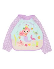 Mermaid coverall bib