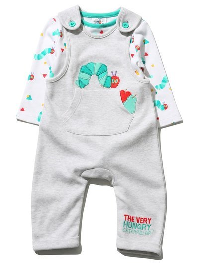 The Very Hungry Caterpillar outfit set (Newborn-12mths)