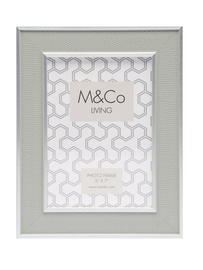 Embossed photo frame