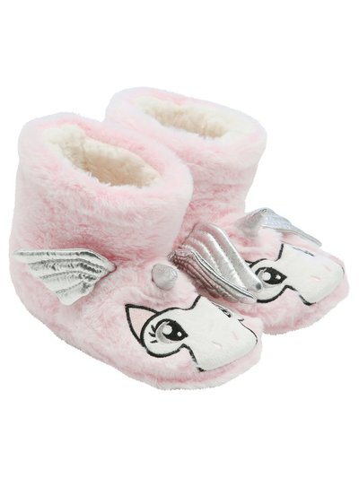 Unicorn slipper boots
