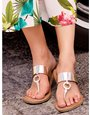 Ring toe post sandals