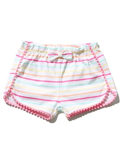 Striped jersey shorts (0mths-4yrs)