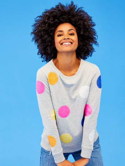 Khost Clothing sequin spot sweatshirt