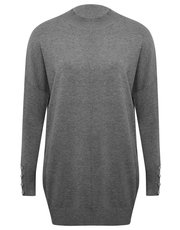 High Neck Tunic Jumper