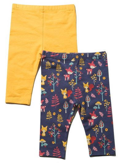 Animal leggings two pack (Tinybaby-18mths)