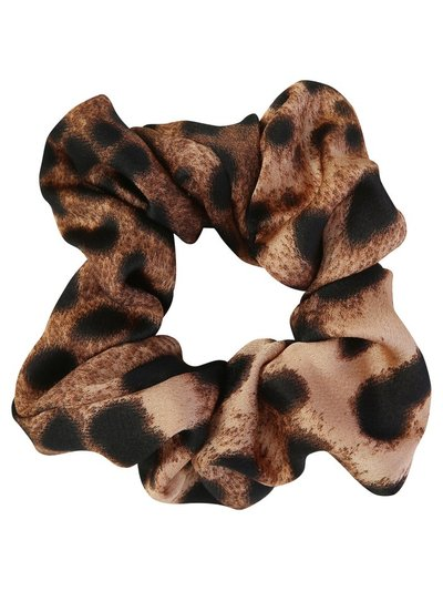 Muse leopard print hair scrunchie