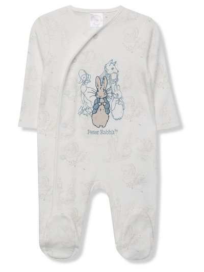Peter Rabbit sleepsuit (Tiny baby - 18 mths)